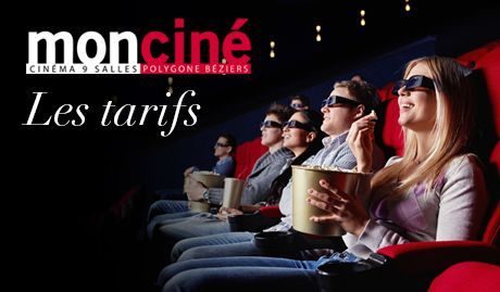 Carte Accord Place Cinema.Les Tarifs Moncine Polygone Beziers