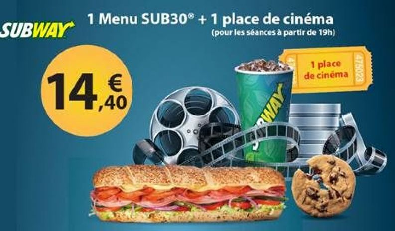 Subway - Offre cinema